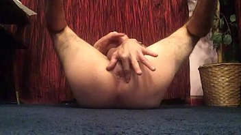 Playing with my butthole till orgasm