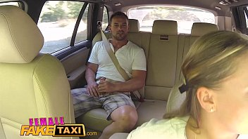 Image: Female Fake Taxi Massive tits cabbie wants cock on the backseat