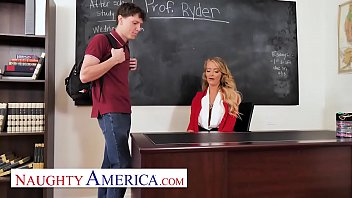 Teacher on student sex action Naughty america - linzee ryder has a crush on her student