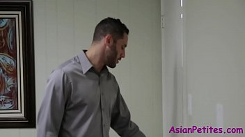 Asian Teen Gets Fucked During Interview- Lexi Mansfield