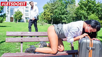 CoverBITCHES ABROAD - (Erica Black & Lutro) Ukrainian Tourist Babe Bangs Abroad With A Teasing Local Guy
