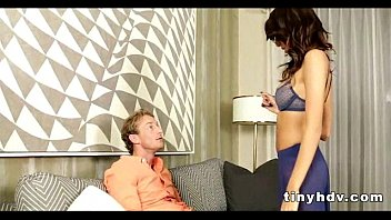 Petite tiny girl drilled Janice Griffith 91