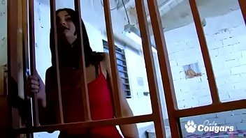 Naughty Sandra Milka Gets Fucked On The Jail Room Floor