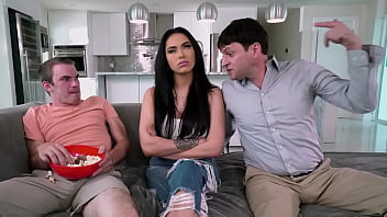 CoverBANGBROS - Step Family Sex Trio With MJ Fresh, Jay Myers And Preston Parker