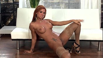 Glamour babe with long hair in nude thigh highs - romantic fucking thumbnail