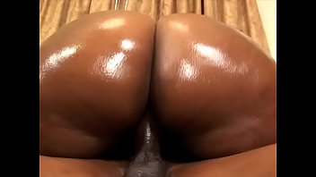 Big ass ebony Tinah Taboo shows sloppy deepthroats and rides skinny black boy