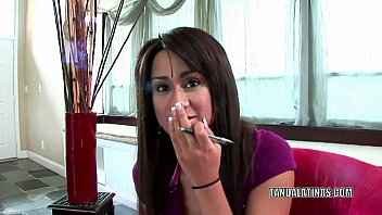 Teen model hand job Cute coed missy vega is giving a handjob