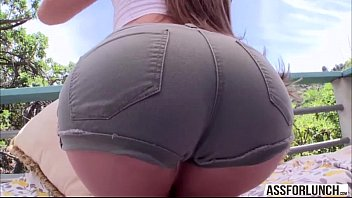 Damn sexy chick  Abby Cross gets hardcore doggystyle outdoors 6分钟