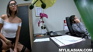 Stories asian girls sex - Lexi mansfield asian job interview jizz