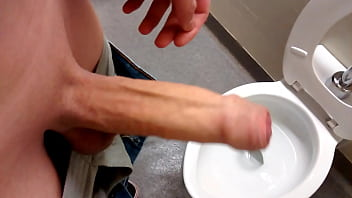 Foreskin in Public Washroom pornhub video