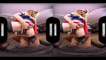 VRCosplayX.com Supergirl Angel Wicky Is Superfucker