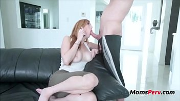 Redhead Mother Spends Quality Time With Son- Lauren Phillips