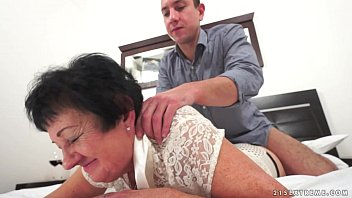 Mature ladies hair styles - Kinky grandma fucked after massage