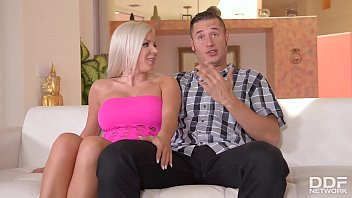 Blonde glamour babe Savannah Stevens can't get enough of his big monster cock