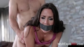 Intruder Force Fucks Brunette MILF- Anna Morna