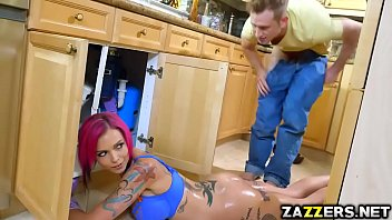 Anna Bell bends over for Bill Baileys loaded cock