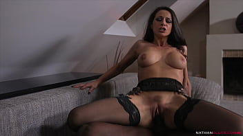 Horny Italian Milf Martina Gold's Morning Anal quicky - Butt Pounding by Joss Lescaf's Massive Big Black Cock - 4K