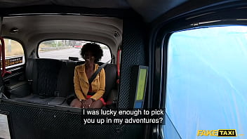 Fake Taxi African Ebony Queen Rides A Huge Thick Cock