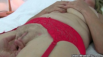 Grannies in pantyhose and stockings - Grannies in pantyhose need to get off