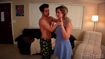 Brother Sister to Give Him a Blowjob - Brainwashing - Fifi Foxx