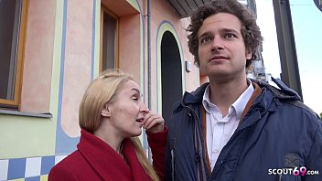 GERMAN SCOUT - ANOREXIC MILF DELIA TALK TO CHEATING ASS FUCK AT PUBLIC AGENT CASTING
