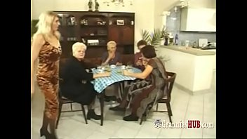 Granny orgy stockings - Kinky german grannies group sex perversion