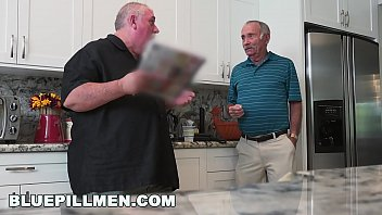 Image: BLUE PILL MEN - We Get Old Man Johnny An Escort (Aria Rose) To Fulfill His Depraved Fantasies