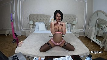 Sex machines with stockings Fucking machine vs anisyia