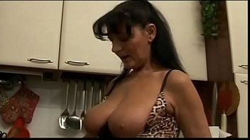 Free mature ugly porn - Big tits of an ugly milf in his mouth