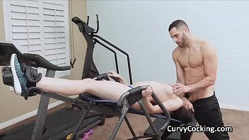 Free penis workouts Busty kyra rides a big cock at the gym