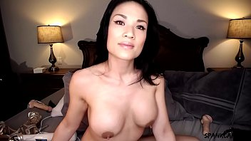 Sexy asian talking dirty