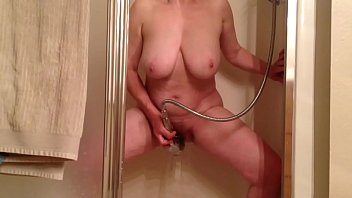 Shower orgasm mpovie Marie loves shower head orgasms