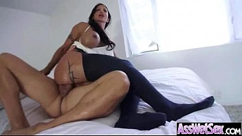 Anal Sex With Oiled All Up Horny Big Butt Girl (jewels jade) movie-14