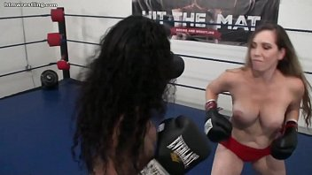 12948 Interracial Foxy Boxing Topless preview