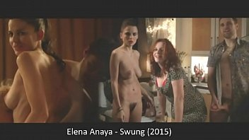 Elena Anaya explores the swinger lifestyle getting naked and showing her bush in the 2015 movie Swung. busty latina teen