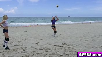 Hot and Sexy Volleyball Session