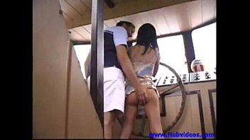 Angelina Crow - I m on a boat  and there s something up my ass