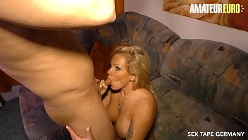 AMATEUR EURO - German Blonde Gina Valentina Is Doing First Sex Tape