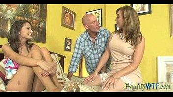 Mom and daughter threesome 1013