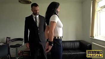 Sex call back dom uk Handcuffed uk milf edged while cockriding dom