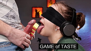 A game of taste. My best friend tricked me when I was guessing the taste of ice cream! xSanyAny