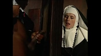 Nun blowjobs xxx - Dirty nun eager for a big black cock
