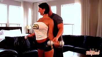 Sporty Milf Caro Fucks Her Coach After Workout