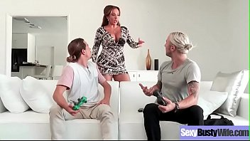 (Richelle Ryan) Housewife With Big Juggs Love Intercorse On Camera Clip-21