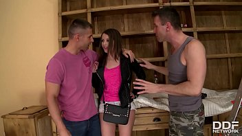 Hot Designer Liona Gets Double Penetrated On Labor Day!