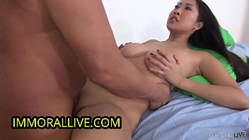 Hardcore Rough Savage Style Sex Makes Awesome Ass Asian Sharon Lee Squirt!