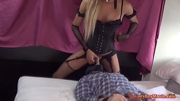 """Asian Transsexual Mistress Barbie Fucks Guys Mouth <span class=""""duration"""">6 min</span>"""