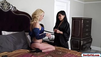 Asian Ember entertaining her sugarmom