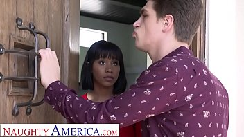 Naughty America Jenna Foxx strips and fucks for bro's bully
