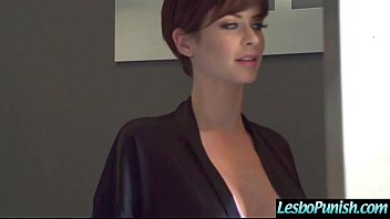 Punish Sex With Dildos Used By Lesbian Girls (Emily Addison & Violet Starr) vid-11
